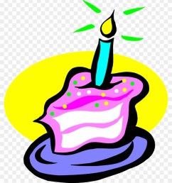 candle clipart transparent background slice of birthday cake 76783 [ 840 x 987 Pixel ]