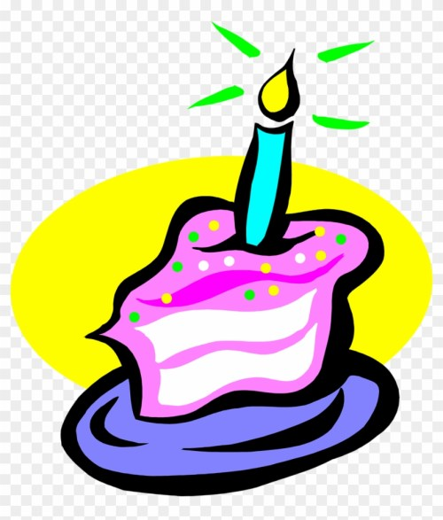 small resolution of candle clipart transparent background slice of birthday cake 76783