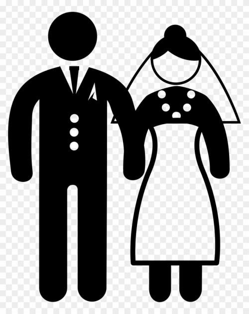 small resolution of bride groom love marriage marry spouse wedding matrimonio icono