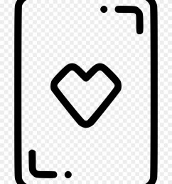 casino playing card heart gamble luck comments icon [ 840 x 1060 Pixel ]
