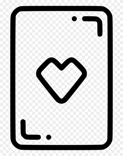 small resolution of casino playing card heart gamble luck comments icon