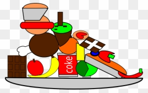 food and water clipart