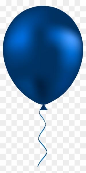 balloon clipart dark blue - navy