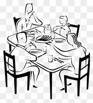 Family Eating Clipart Group 60 Rh Runsickcattle Com