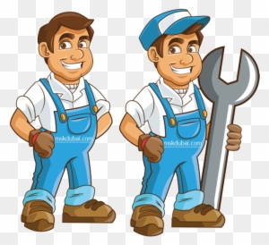 Professional Maintenance Service Plumbing Cartoon Free Transparent Png Clipart Images Download