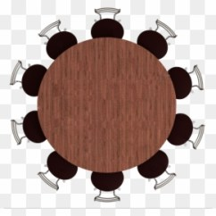 Round Table And Chairs Shower Chair With Armrests Dining Room Stock Photography Top View