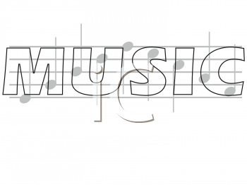 Royalty Free Music Notes Clip art, Entertainment Clipart