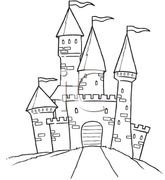 Royalty Free Palace Clip art, Buildings Clipart