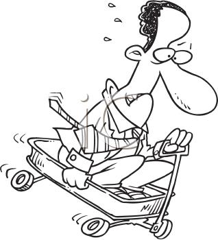 Royalty Free Businessman Clip art, Business Clipart