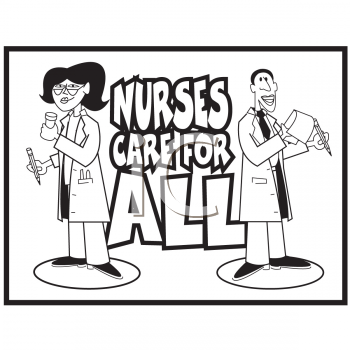 Royalty Free Nurse Clip art, Science Clipart