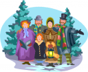 scrooge clipart - royalty free