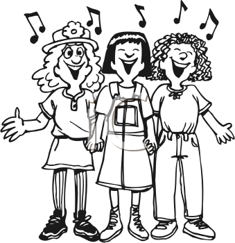 Royalty Free Singer Clip art, Entertainment Clipart
