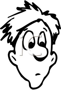Concerned Face Cartoon