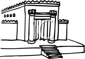 Royalty Free Temple Clip art, Buildings Clipart