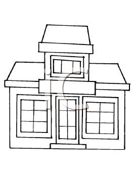 Royalty Free Library Clip art, Buildings Clipart