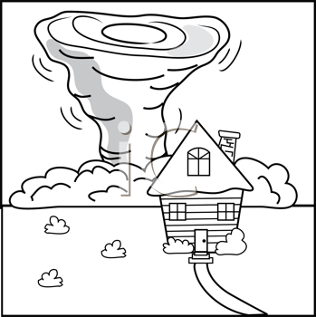 Royalty Free Residence Clip art, Buildings Clipart