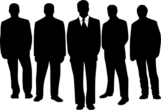 Image result for group of men cartoon