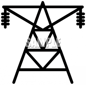 Electrical Transformer Icon Electrical Pole Icon Wiring