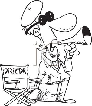 Director Clip Art