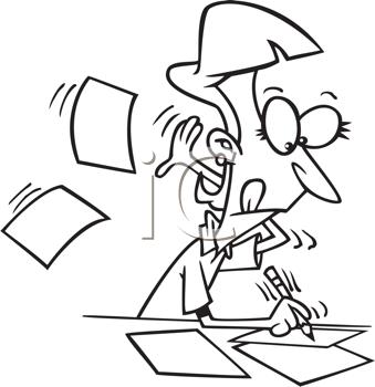 Royalty Free Clerk Clipart