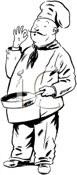 Royalty Free Chef Clipart