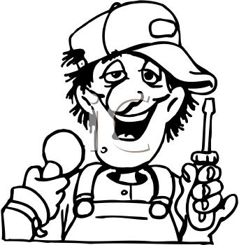 Royalty Free Mechanic Clipart