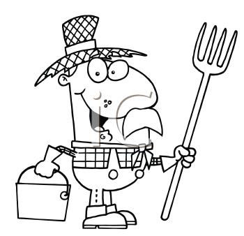 Royalty Free Farmer Clipart
