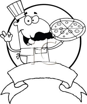 Royalty Free Cook Clipart