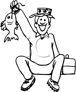 Royalty Free Fishing Clipart