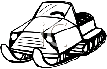 Royalty Free Skidoo Clipart