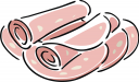 royalty free ham clipart