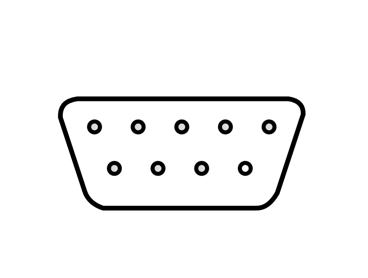 Free Computer Connector Clipart, 2 pages of Public Domain