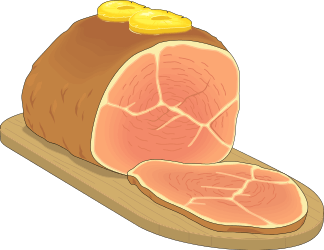 free ham clipart 1 page of public