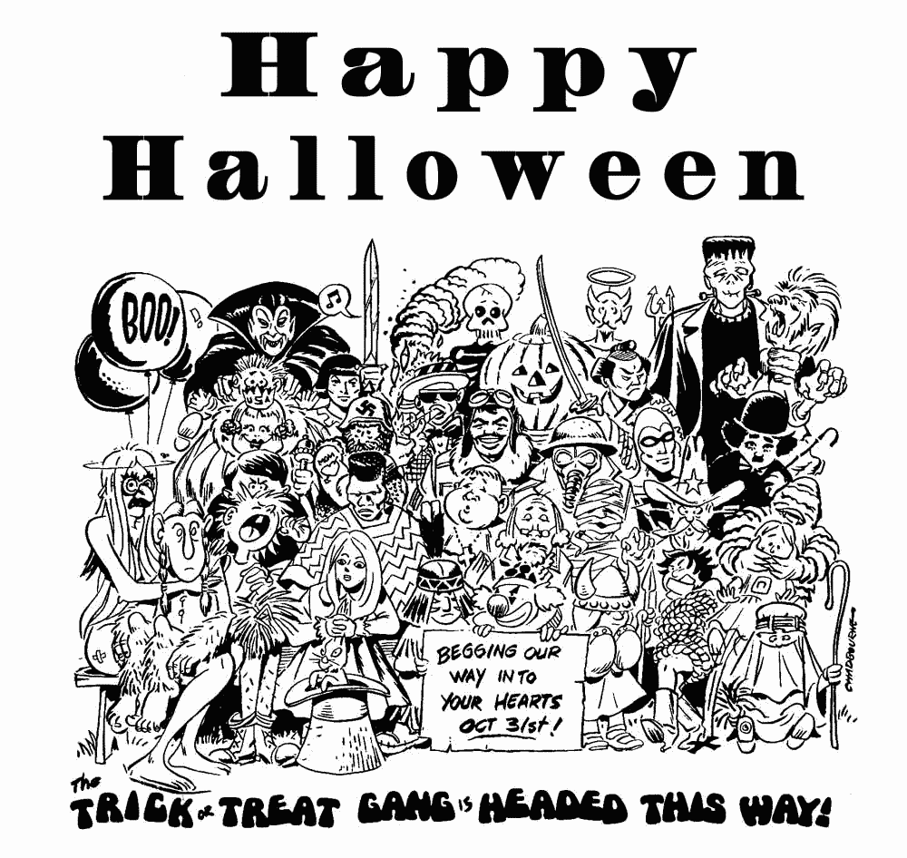 hight resolution of free black and white halloween clipart