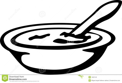 small resolution of cereal clipart bowl of cereal or cream