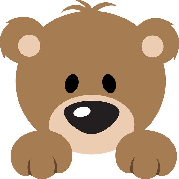 cute teddy bear clip