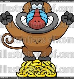 baboon clip art rf baboon clipart [ 1024 x 1024 Pixel ]