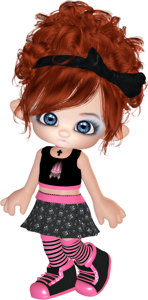 punk character clipart
