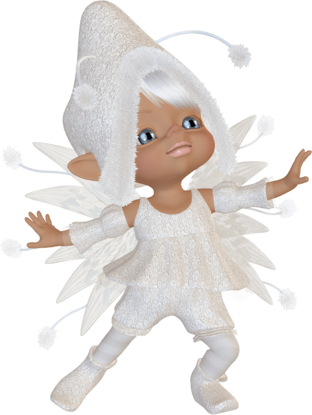 Snow Fairy Graphic.