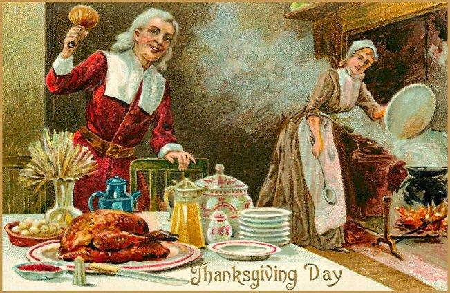 Thanksgiving Dinner Graphic