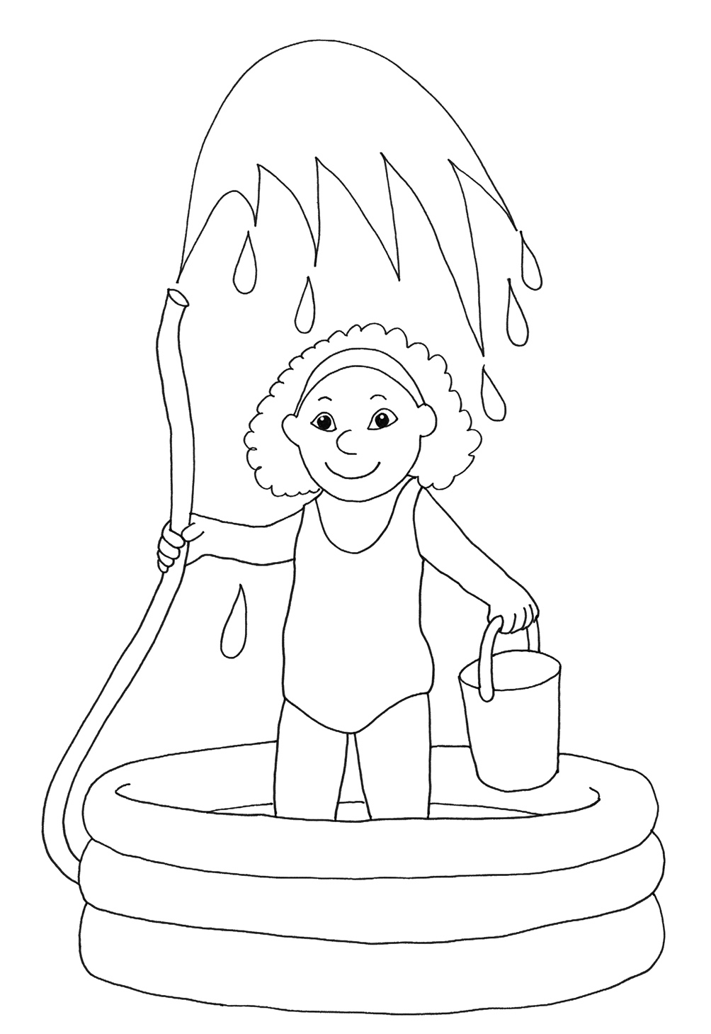 Summer Coloring Pages to Print