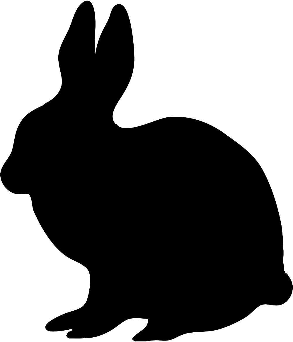 hight resolution of animal silhouette of giraffe hare silhouette black