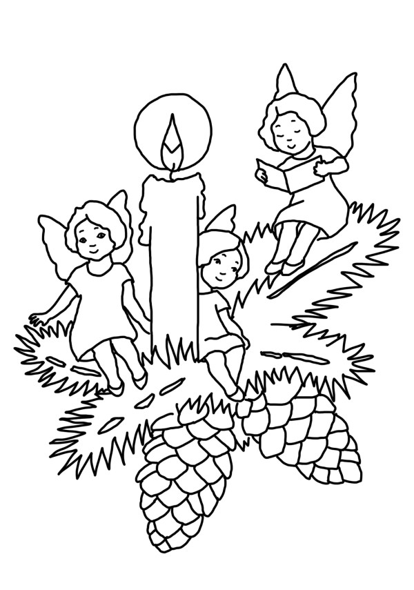 coloring christmas pages # 25