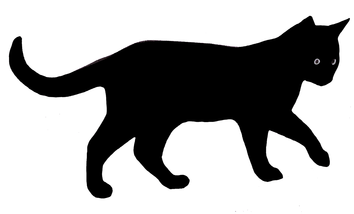 hight resolution of cat clip art silhouette silhouette of walking cat