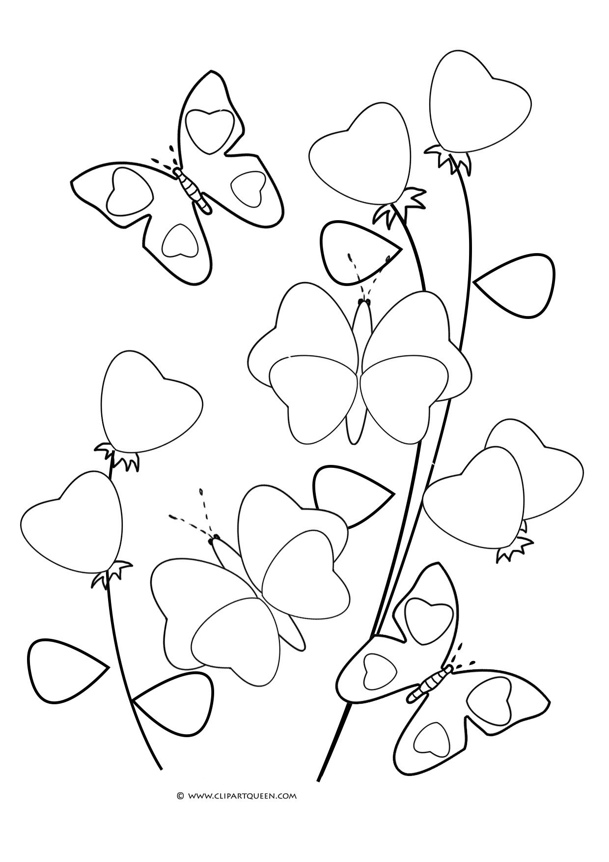 12 Valentine S Day Coloring Pages