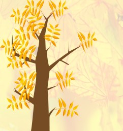 autumn clip art tree with leaves autumn tree with background [ 787 x 1102 Pixel ]