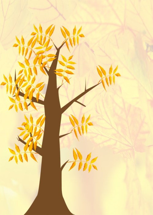 small resolution of autumn clip art tree with leaves autumn tree with background
