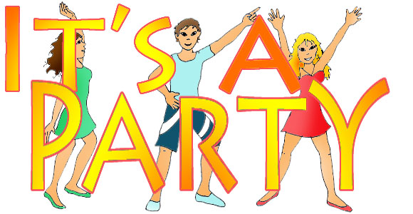 party clip art - free graphics