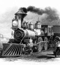 steam train clipart 1873 [ 1181 x 903 Pixel ]