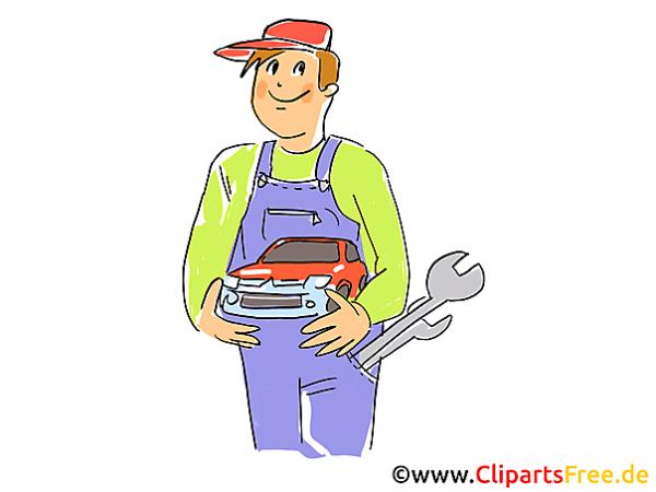 Auto Mechanic Clip Art